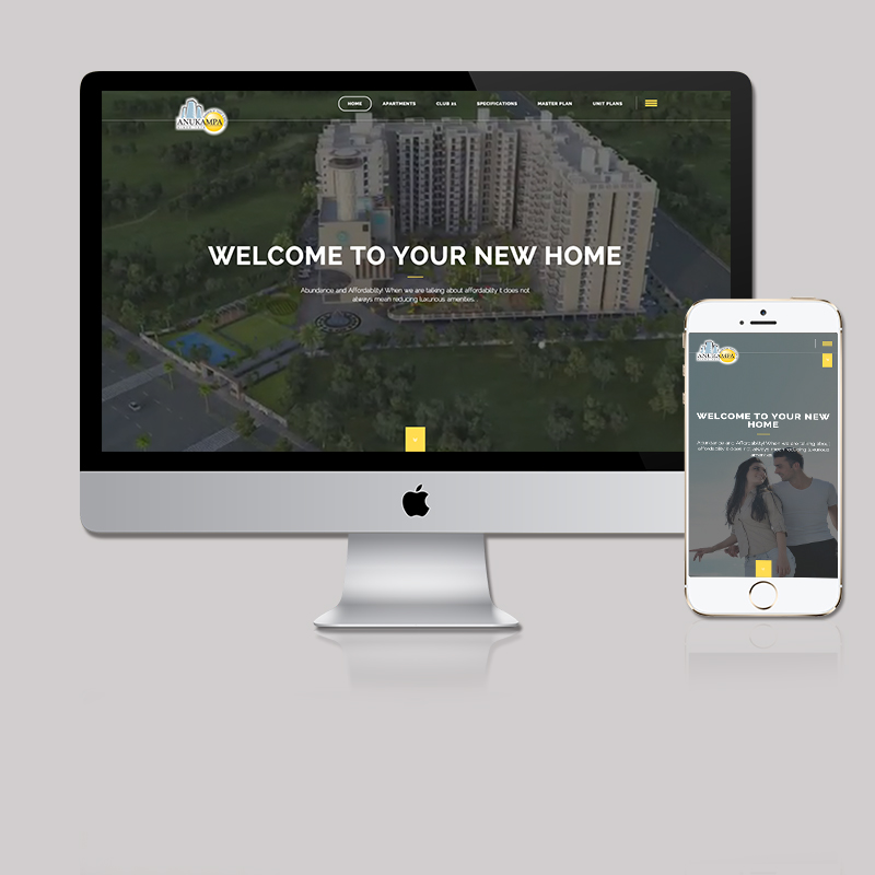 Microsite for Real Estate by MTLB
