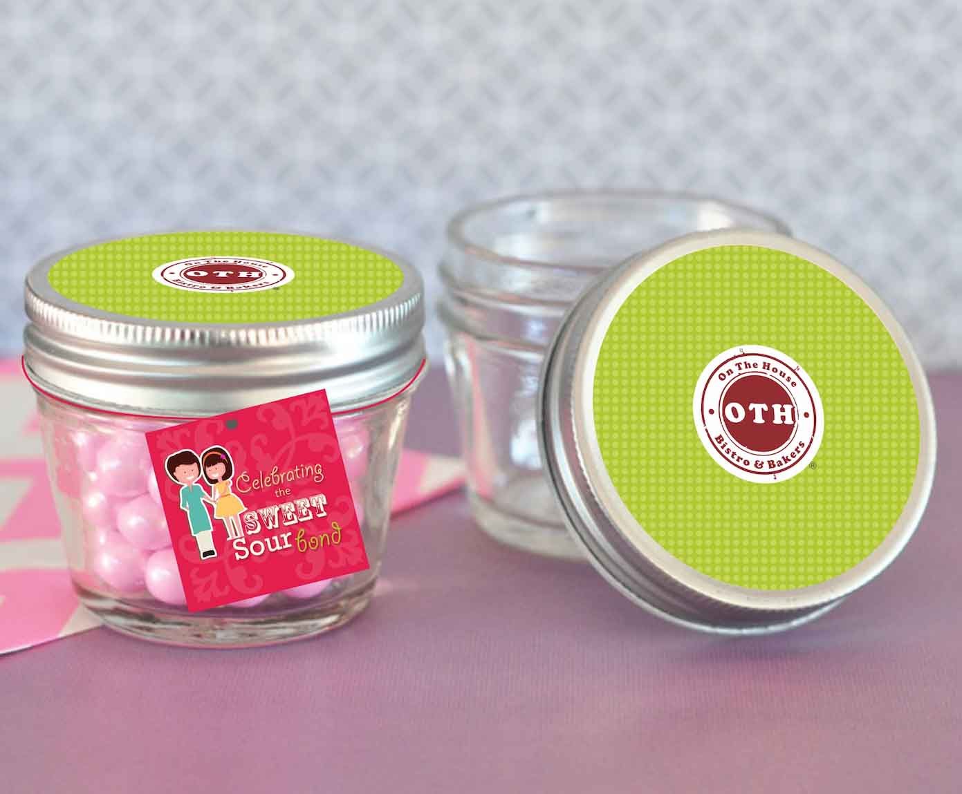 Cake Jars for Bakery by MTLB