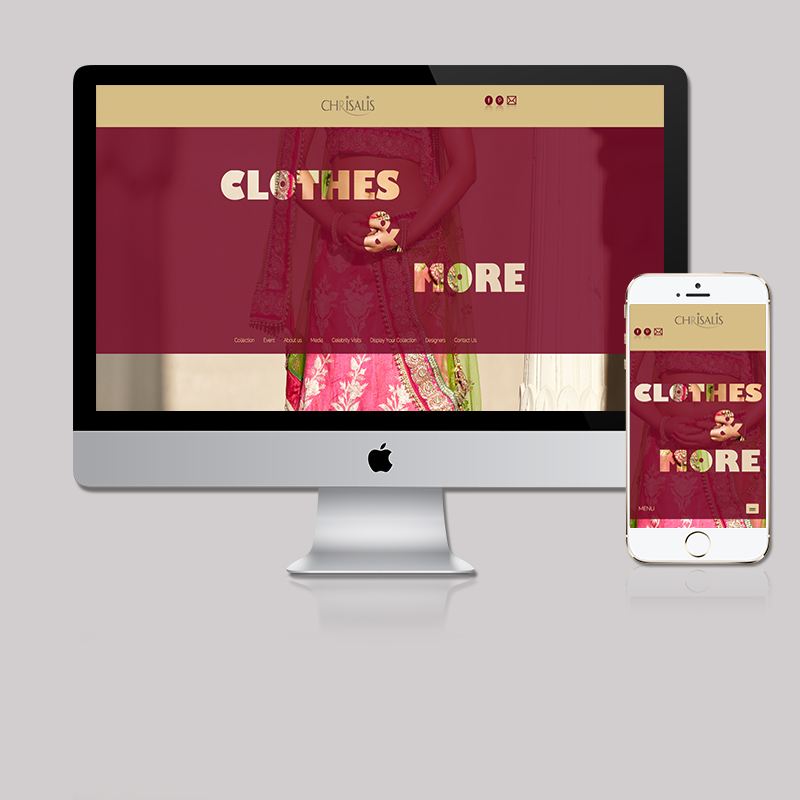 Website for Fashion Store by MTLB
